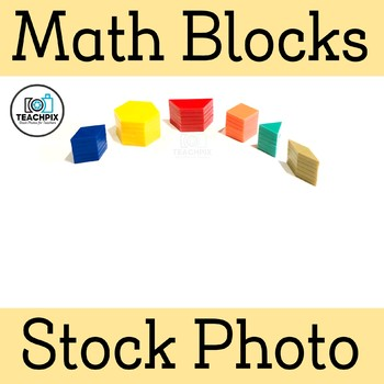 Math Building Blocks Stacked