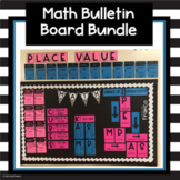 Math Reference Bulletin Board Display Bundle