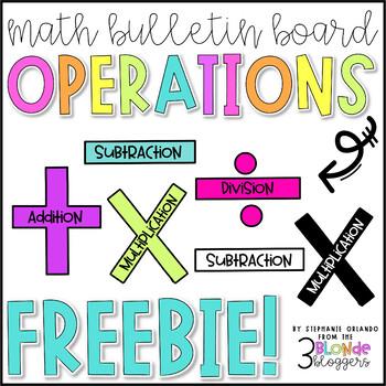 Math Bulletin Board Operations