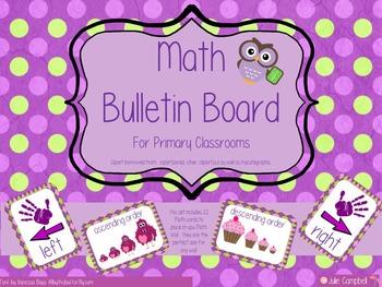 Math Bulletin Board Set