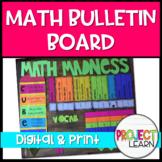 Math Bulletin Board Template