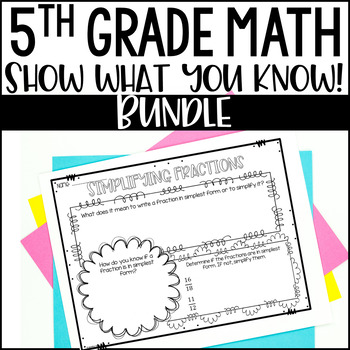 Math Bulletin Boards {5th Grade Common Core: All Standards}