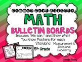 Math Bulletin Boards {5th Grade Common Core: Measurement and Geometry}