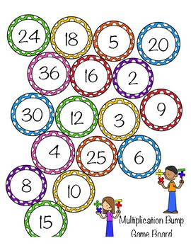 Math Bump (Addition, Subtraction, and Multiplication)