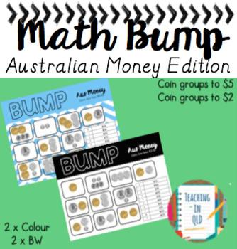 Math Bump Australian Money Edition
