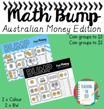 Math Bump Australian Money Edition