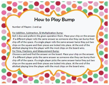 Math Bump Bundle