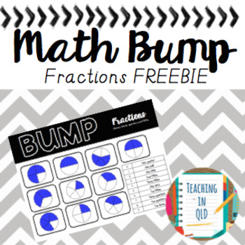 Math Bump- Fraction *FREEBIE*
