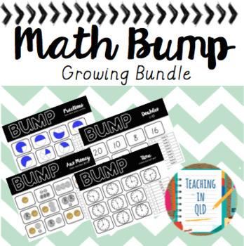 Math Bump Growing BUNDLE
