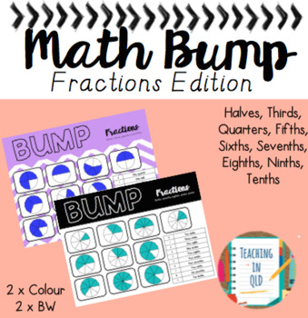 Math Bump Fractions Edition