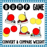 Math Bump Game - Convert and Compare Weight
