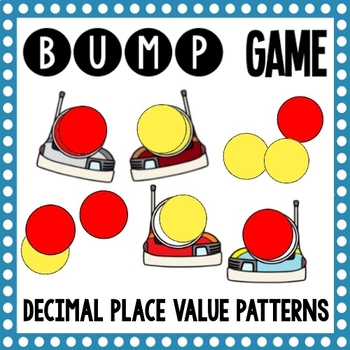 Math Bump Game Decimal Place Value Patterns By Mathematic Fanatic Delectable Place Value And Patterns