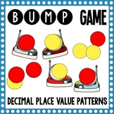 Math Bump Game - Decimal Place Value Patterns