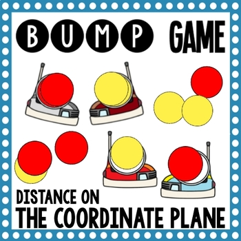 Math Bump Game - Distance on the Coordinate Plane