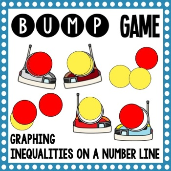 Math Bump Game - Graphing Inequalities on a Number Line