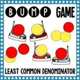 Math Bump Game - Least Common Denominator