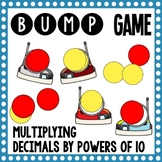 Math Bump Game - Multiplying Decimals by Powers of 10
