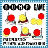 Math Bump Game - Multiplying Patterns and Powers of 10
