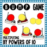 Math Bump Game - Multiplying by Powers of 10
