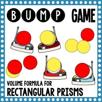 Math Bump Game - Volume of Rectangular Prisms Using the Formula