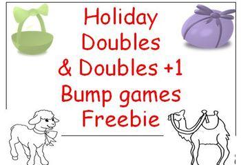 Math Bump Games Freebie
