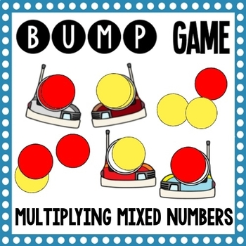 Math Bump Games - Multiplying Mixed Numbers