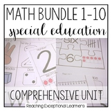 Math Bundle 1-10 for Special Education