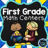 First Grade Math Centers | First Grade Math Stations