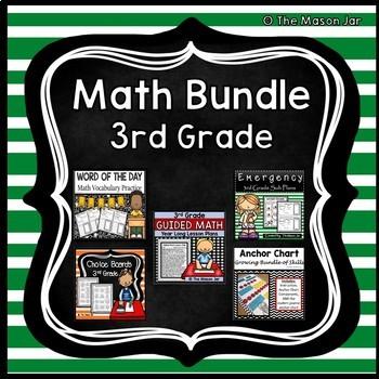 Math Bundle - 3rd Grade
