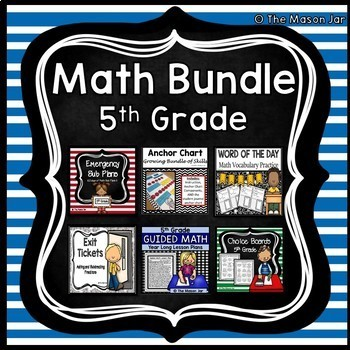 Math Bundle - 5th Grade