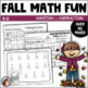 Addition and Subtraction Seasonal Worksheets Bundle