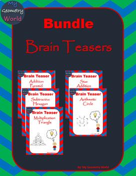 Math Bundle: Brain Teasers