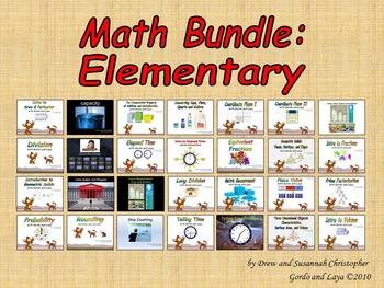 Math Bundle Elementary