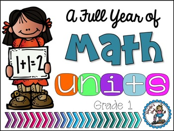 Math Bundle - Grade 1