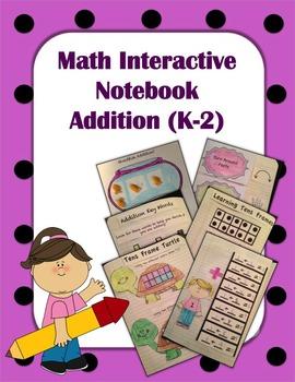 Interactive Math Notebook First Grade