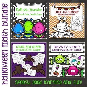 Math Bundle - Halloween Theme