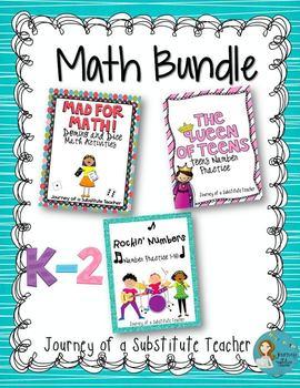Math Bundle: K-2 Math Activities