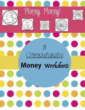 Math Bundle- Multiplication, Division, Shapes, Money, and more!