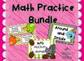 Math Practice Bundle