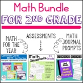2nd Grade Math | Assessments, Data Tracking, Centers | YEA