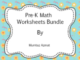 Math  Pre-K Worksheets Common Core States Standard