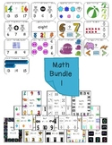 Math Bundle of Clothespin Activities (over 200 activity ca