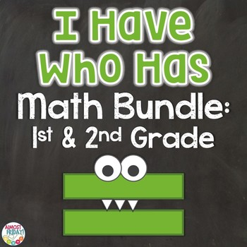 Math Bundle of I Have Who Has Games