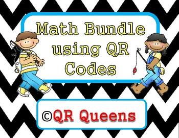 Math Mega Bundle Listening Center using QR Codes