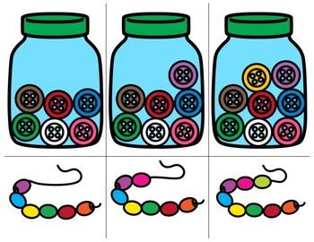 Math Button Cards