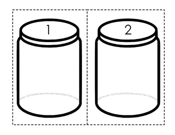 Math Button Jars
