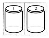 Math Button Jars