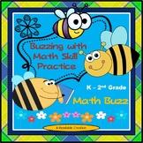 Math Buzz - Bee Themed Math Activities