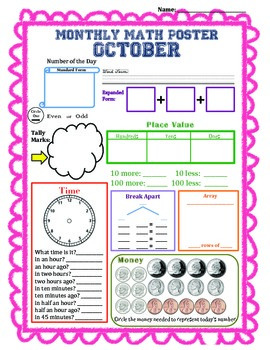 Math By the Month (October)