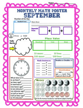 Math by the Month (September)